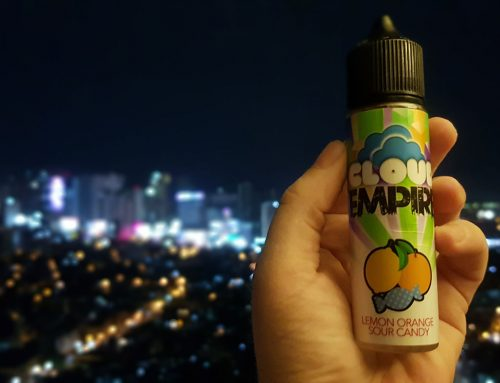 Lemon Orange Sour Candy – Cloud Empire by Steep n Drip Review